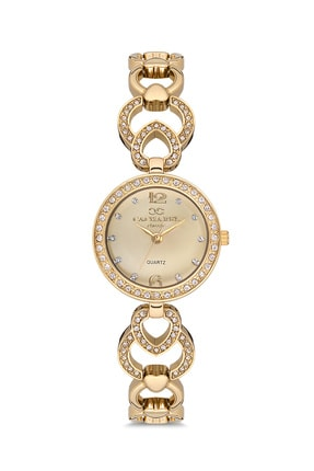 Cacharel Kadın Gold Classic Kol Saati