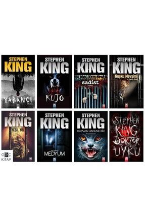 Altın Kitaplar Stephen Kıng 8 Kitap Set Yabancı-kujo-sadist-kuşku Mevsimi Ve Esaretin Bedeli-medyum-hayvan Mezarlığ