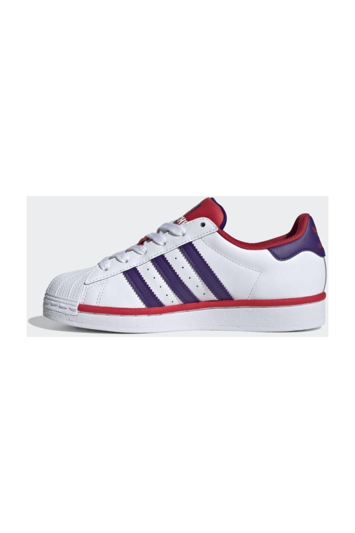 adidas Superstar J Günlük Spor Ayakkabı 2