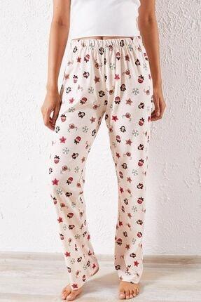 Zafoni Kadın Beyaz Pijama