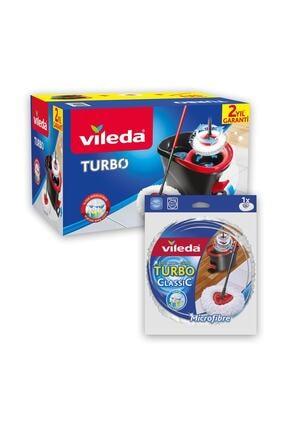 Vileda Turbo Pedallı Sistem + Yedek Paspas