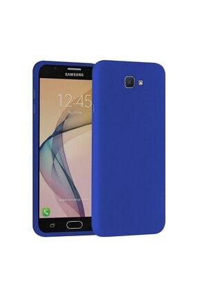 SARI STORE Samsung Galaxy J7 Prime Kılıf Içi Kadife Lansman Kapak Mavi