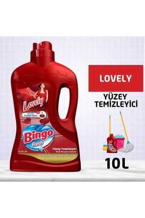 Bingo Fresh Yüzey Temizleyici 2,5 lt Lovely Ekonomi Paketi 4'lü