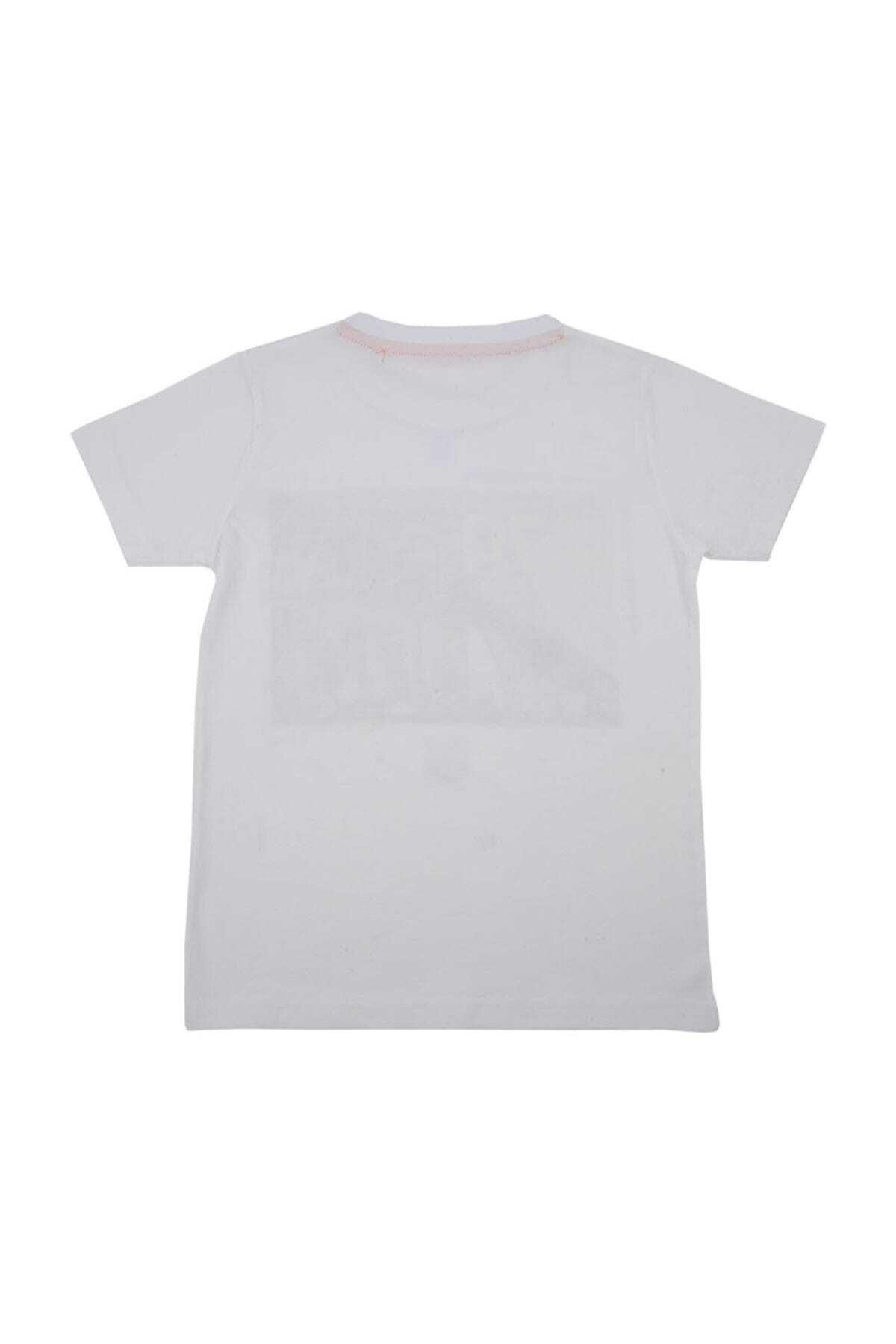 Zeyland Erkek Çocuk Beyaz T-Shirt 2