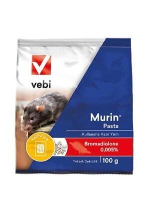 Vebi 2 Paket Fare Zehri Fare Zehiri Fare Yemi Ve Sıçan Zehiri 20 Adet 200 gr Murin Pasta