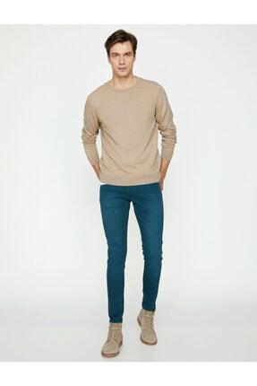 Koton Erkek Yeşil Dar Kesim Pantolon