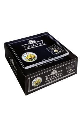 Beta Tea Earl Grey Bardak Poşet 100 Bergamot - Tomurcuk Çayı 2 gr