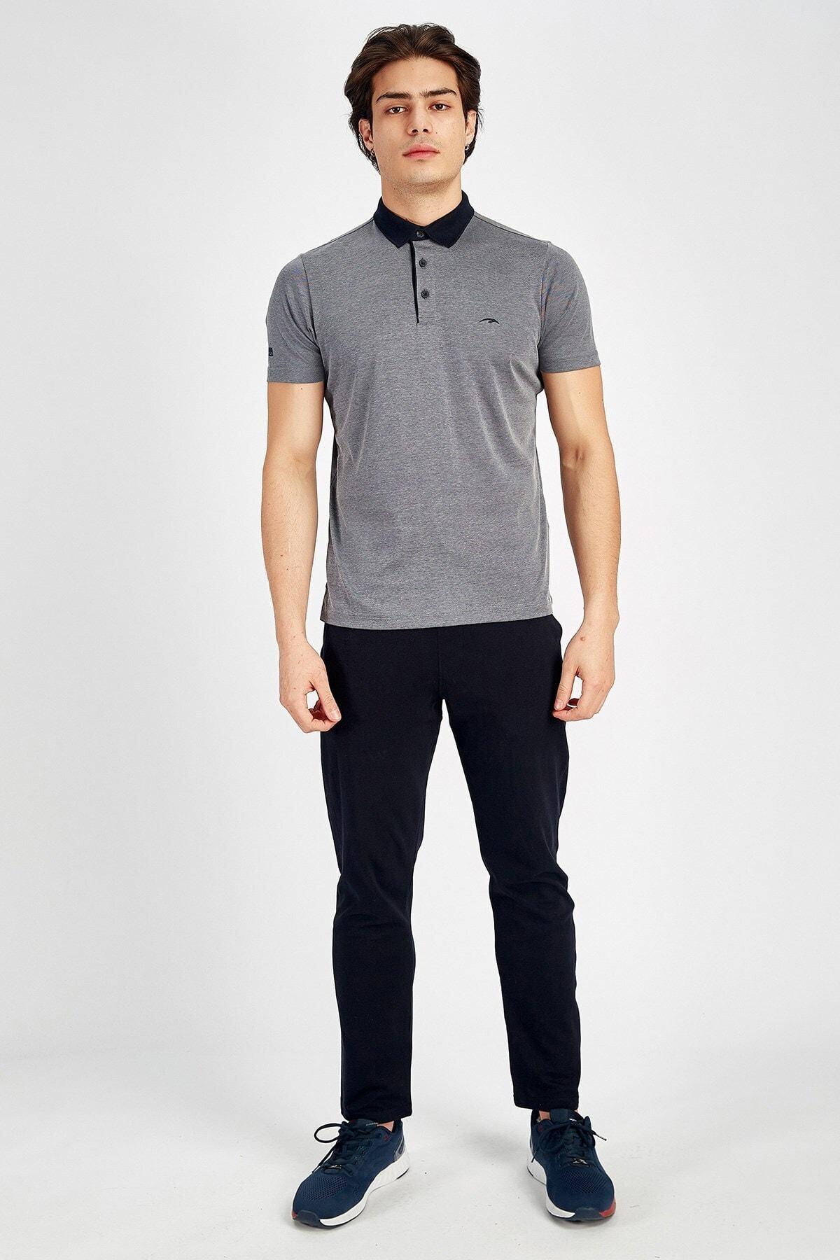 MARATON Erkek Gri Sportswear T-shirt 1