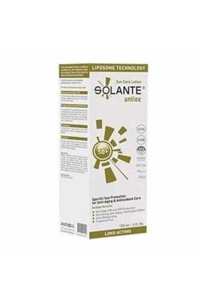Solante Antiox Sun Care Lotion Spf50+ 150ml - Anti Aging Özellikli Güneş Koruyucu