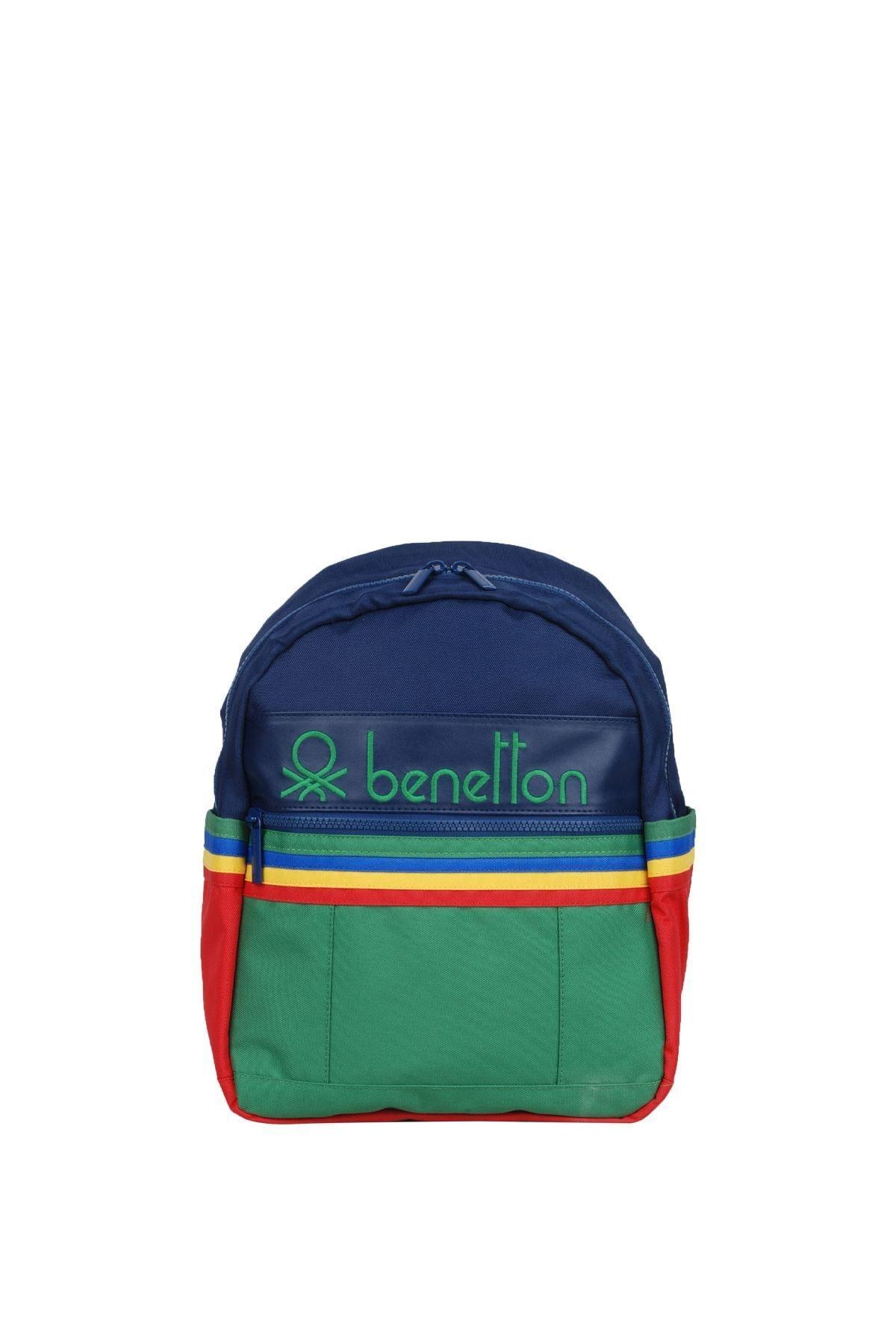 United Colors of Benetton Unisex Benetton Iki Bölmeli Anaokul Çantası 70040 1
