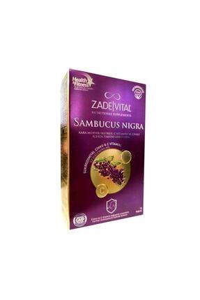 Zade Vital Sambucus Nigra Kara Mürver Ekstreli C Vitamini & Çinko Içeren Takviye Edici Gıda (15 Kapsül)
