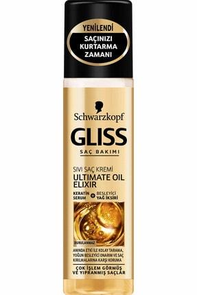 Gliss Ultimate Oil Elixir Sıvı Saç Kremi 200 ml