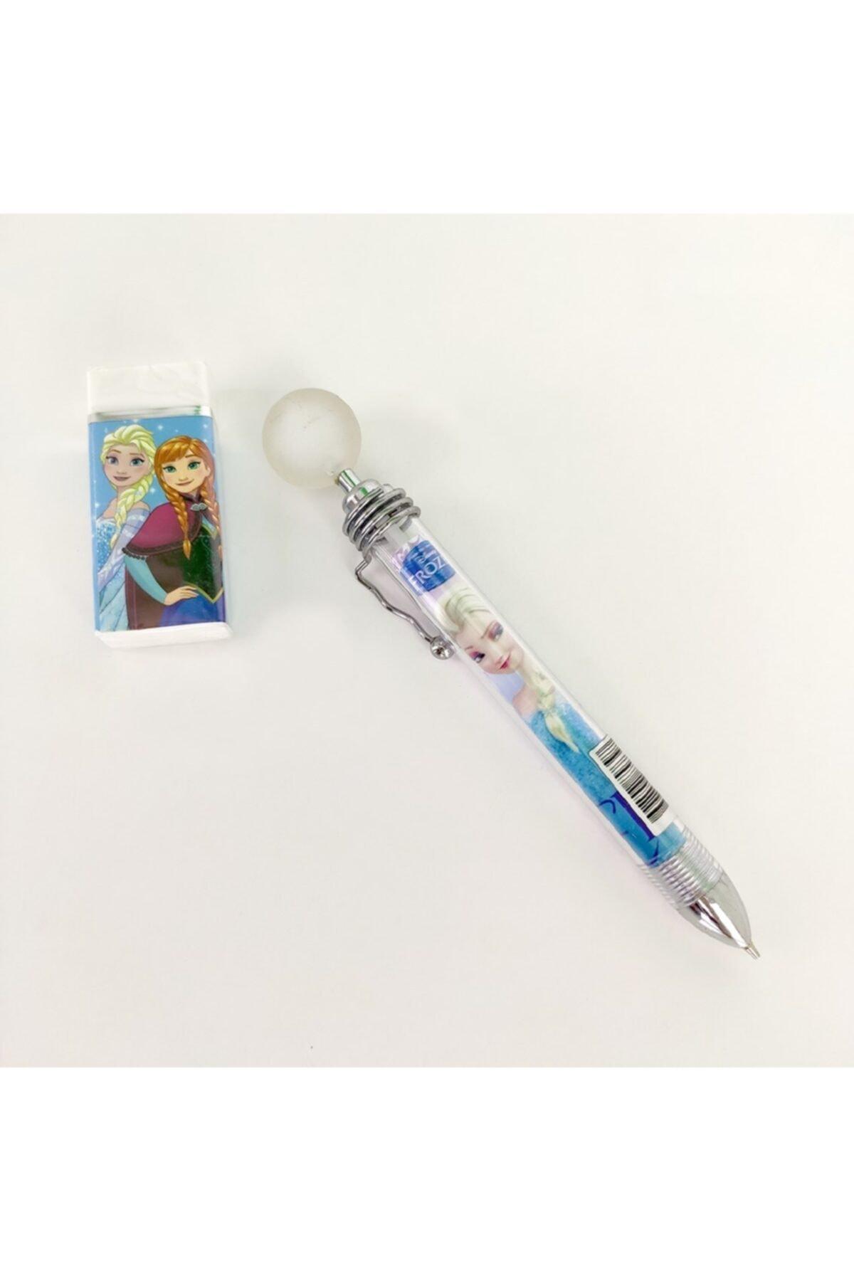 Frozen 7 Parça Set(çanta+beslenme+bes.kabı+suluk+silgi+kalem+kalem Kutu) 2