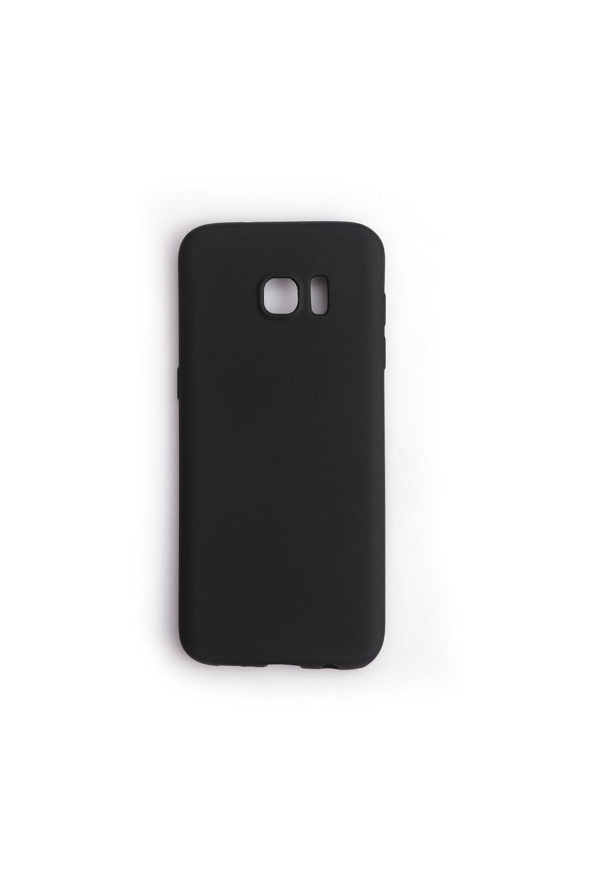 Vision Samsung Galaxy S7 Edge Kılıf Premium Silikon Siyah 1