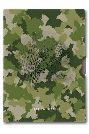KESKİN COLOR 96 Yaprak Erkek Çocuk Hatıra Defteri - Yeşil Kamuflaj - 14x20 Cm