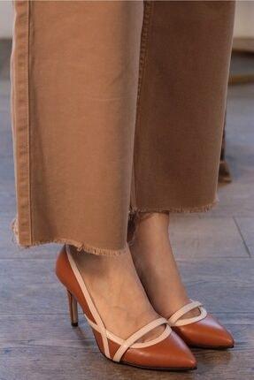 Mio Gusto Lucy Taba Topuklu Ayakkabı