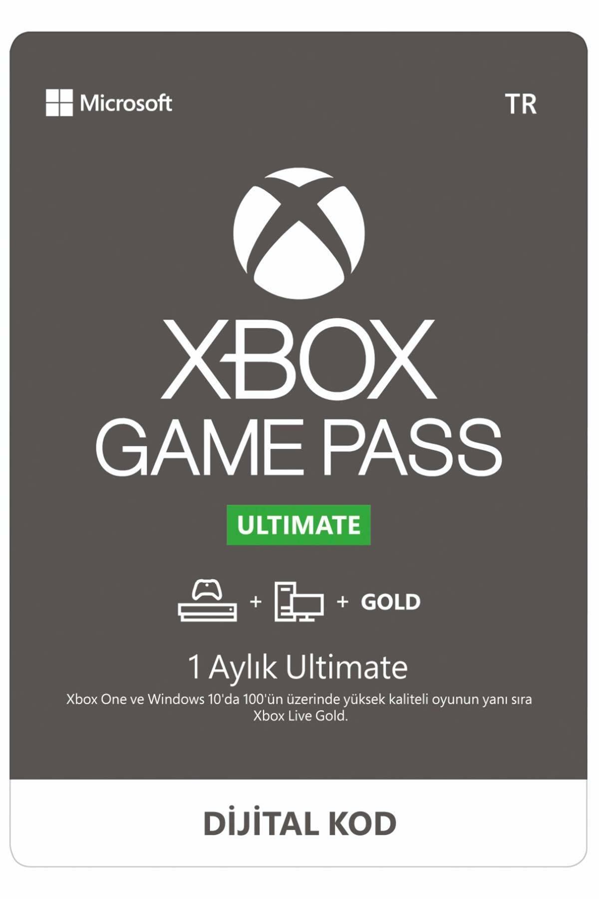 MICROSOFT Xbox Game Pass Ultimate - 1 Ay