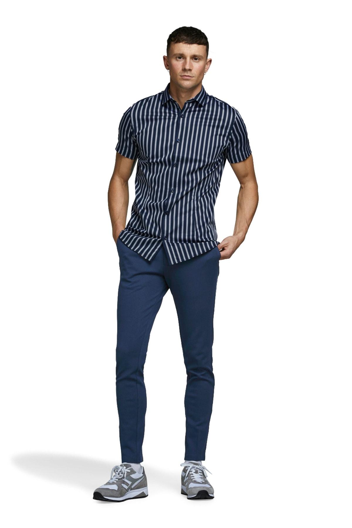 Jack & Jones Jeans Intelligence Jjımarco Slim Fit Pantolon ERKEK PANTOLON 12173630 1