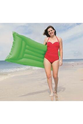 BESTWAY Şişme Deniz Yatağı Neon Yeşil 44007