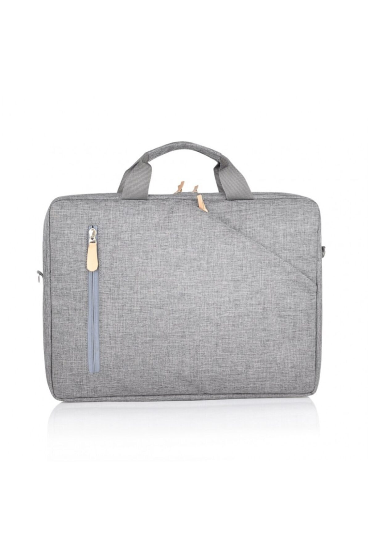 Nar Çanta Laptop / Evrak Çantası Nc-lt-003 Gri (15'' Inç) 2