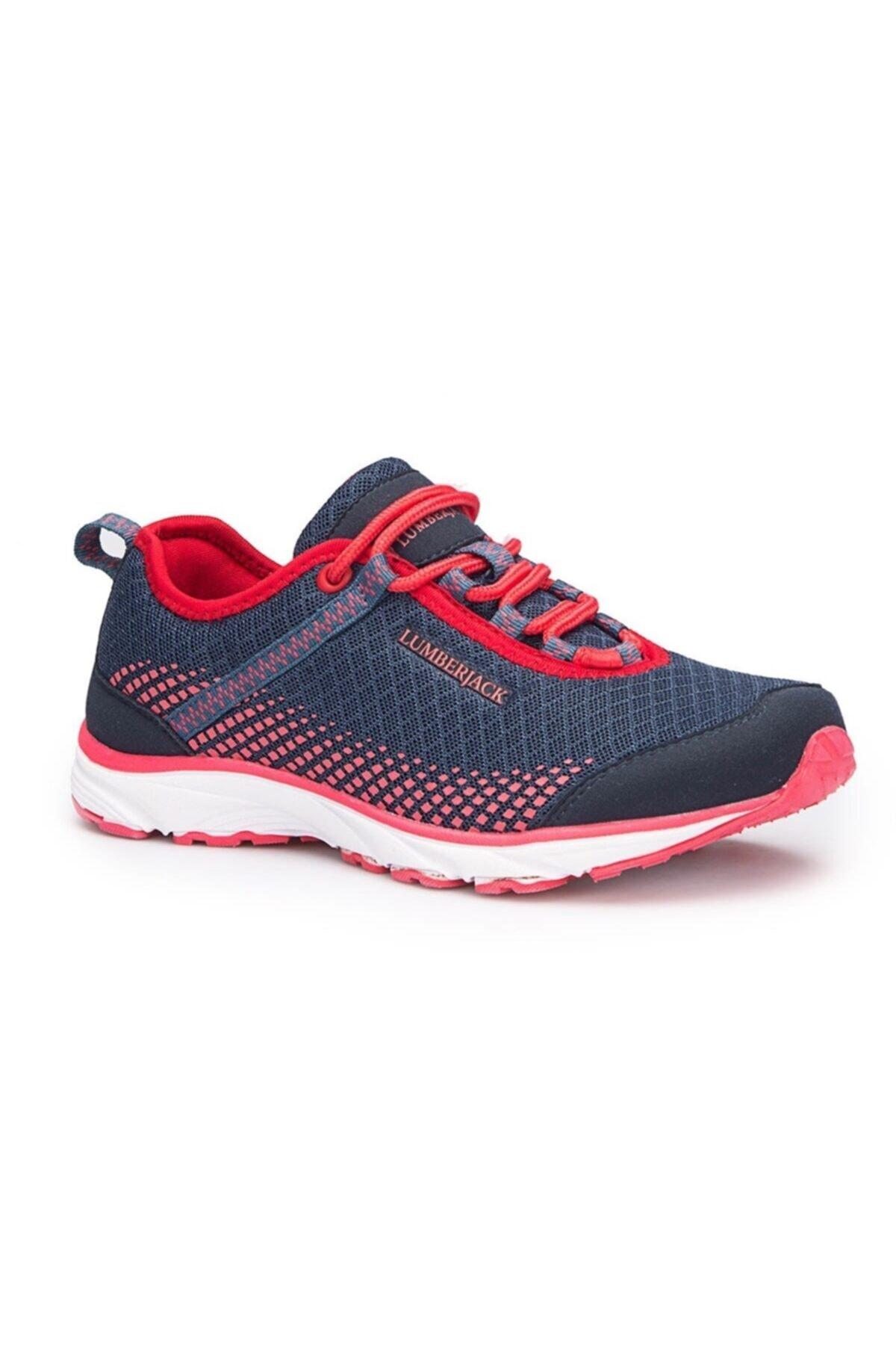 lumberjack Dare Kadın Sneaker Günlük Spor Ayakkabı Laci Kırmızı 1