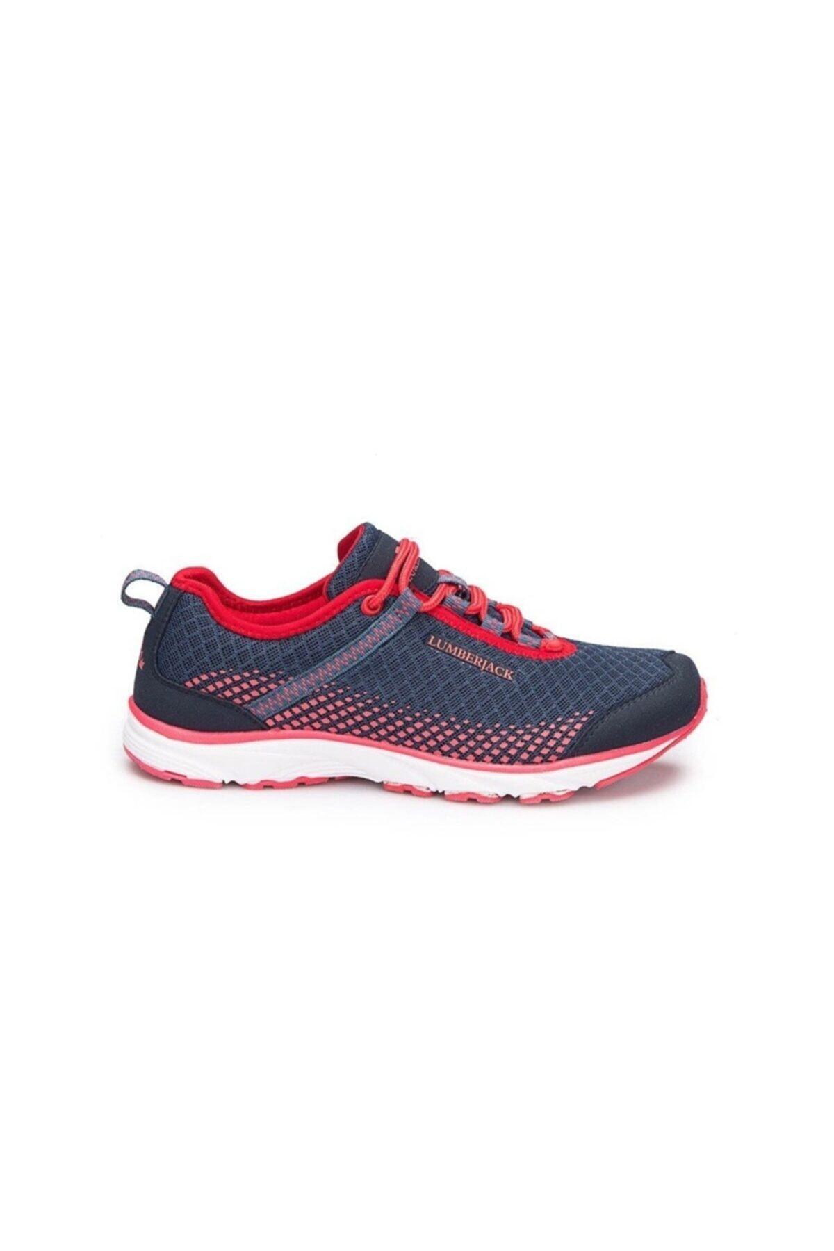 lumberjack Dare Kadın Sneaker Günlük Spor Ayakkabı Laci Kırmızı 2