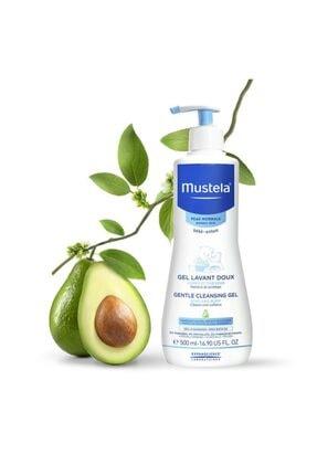 Mustela Gentle Cleansing Gel-bebekler Için Saç Ve Vücut Şampuanı 500ml