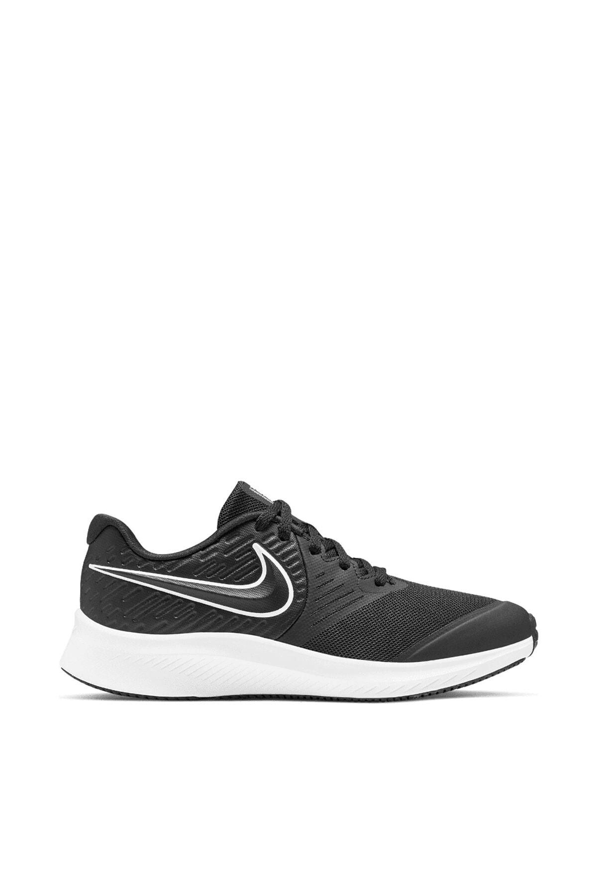 Nike Star Runner 2 Kadın Siyah Spor Ayakkabı Aq3542-001 1