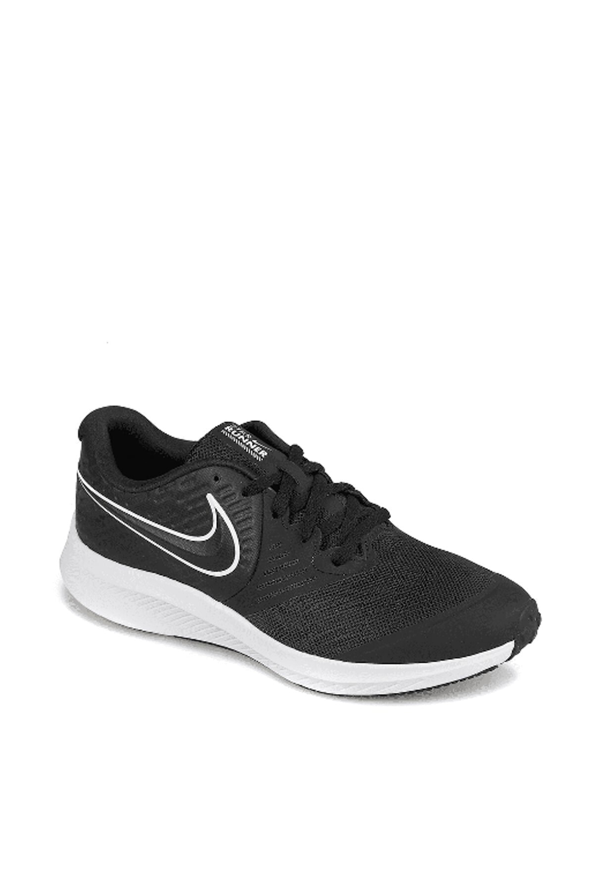 Nike Star Runner 2 Kadın Siyah Spor Ayakkabı Aq3542-001 2