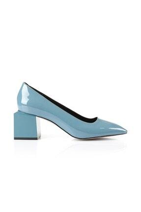 Oblavion Triana Indigo Mavi Topuklu Ayakkabı