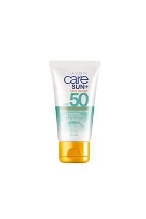 AVON Care Sun+ Pure & Sensitive Face+Body Güneş Kremi 50 ml