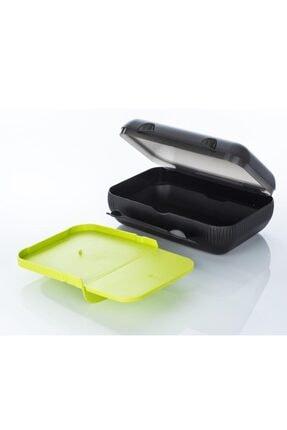 Tupperware Siyah Renk Bölmeli Beslenme Kutusu
