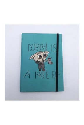Köstebek Harry Potter- Dobby Is A Free Elf Defter