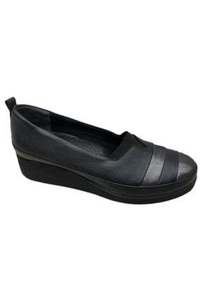 Nehir Üçel 1062 Hakiki Deri Ortopedik Kadın Ayakkabı