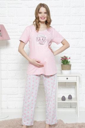VİENETTA Kadın Hamile Penye Suprem Pijama Takım
