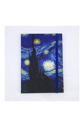 Köstebek Van Gogh - The Starry Night Defter