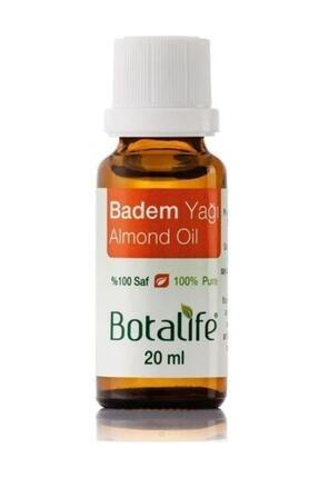 Botalife 2 Adet %100 Saf Badem Yağı 20 Ml (soğuk Pres) (tatlı Badem)