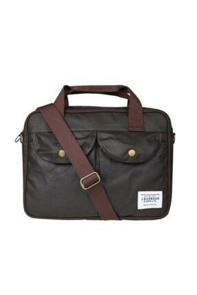 Barbour Wax Longthorpe 14 Inc Laptop Bag Ol71 Olive