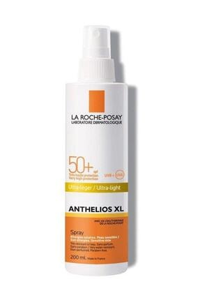 La Roche Posay Anthelios Xl Ultra Light Spf 50+ Sprey 200 ml 3337872420085