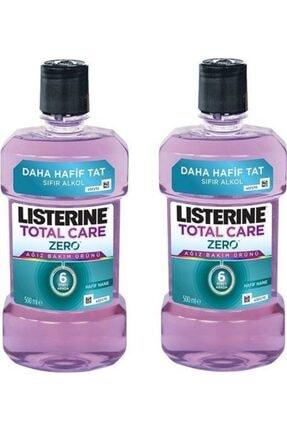 Listerine Total Care Hafif Tat Alkolsüz Ağız Bakım Suyu 500ml X2