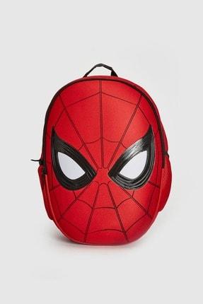 LC Waikiki Spiderman Erkek Çocuk Kırmızı Csg Okul Çantası