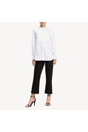 Tommy Hilfiger Kadın Beyaz Gömlek