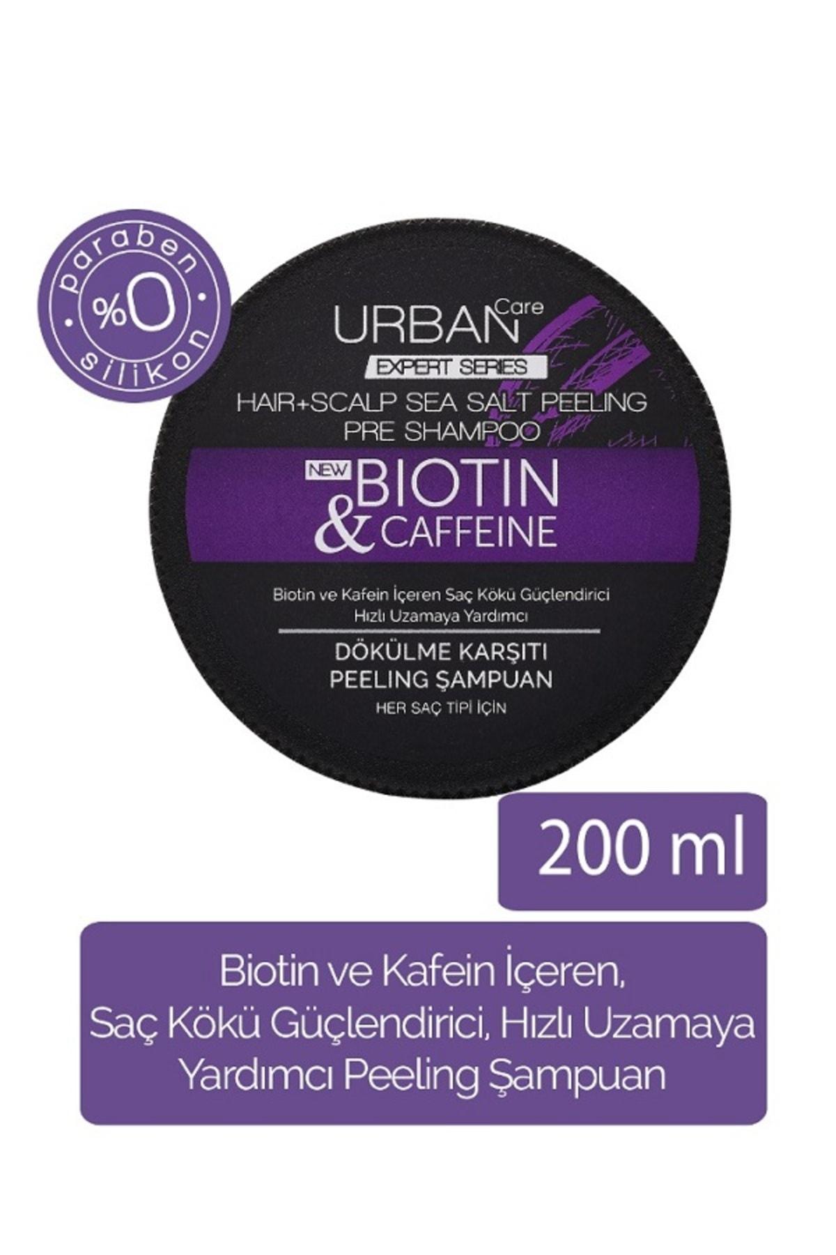 Urban Care Biotin ve Kafein içeren Saç Kökü Güçlendirici Peeling Şampuan 200 ml 8680690702280 1