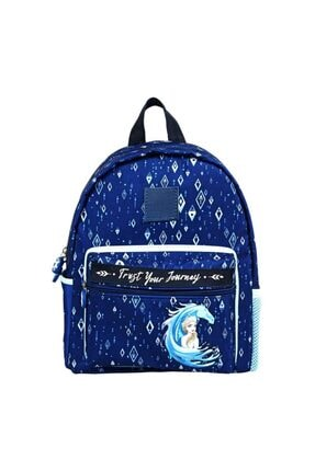 Frozen Çocuk Mavi Okul Sırt Çantası -5164