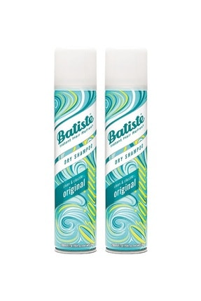 Batiste 2 X Orijinal Kuru Şampuan - Original Dry Shampoo 200 Ml 5010724527422