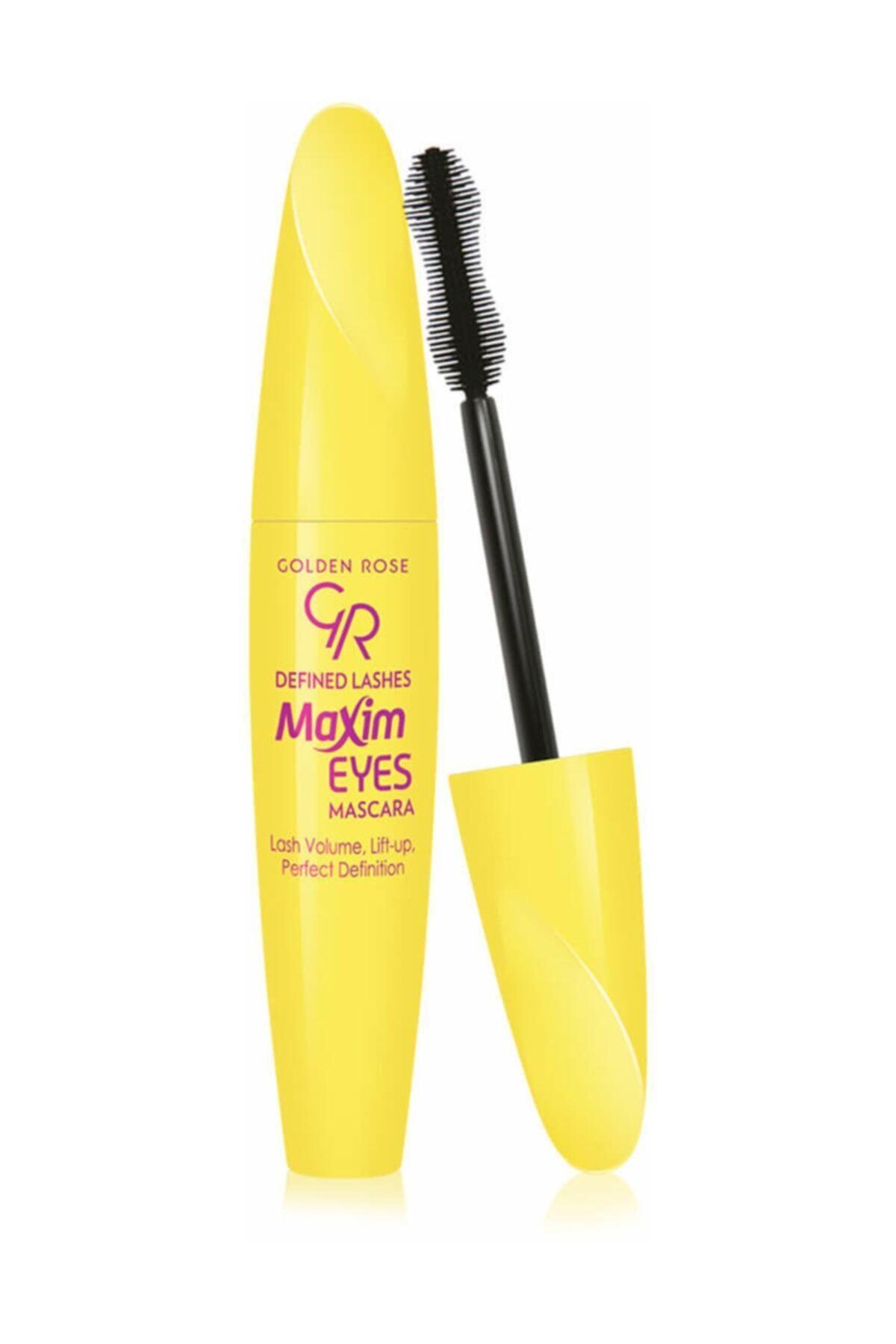 Golden Rose Siyah Maskara - Defined Lashes Maxim Eyes Mascara 8691190068653 1