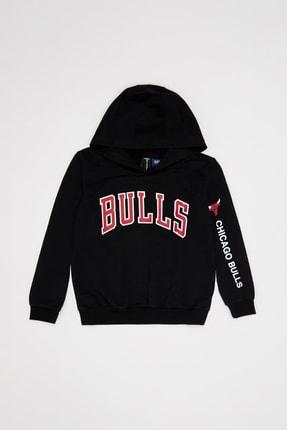 DeFacto Erkek Çocuk Siyah Nba Lisanslı Sweatshirt