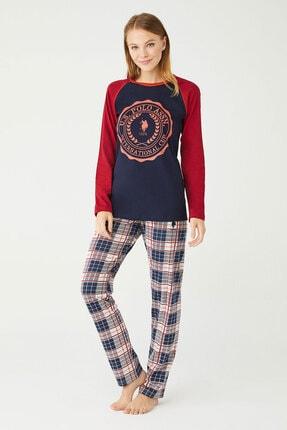U.S. Polo Assn. U.s Polo Assn. Bayan Yuvarlak Yaka Pijama Takımı 16370