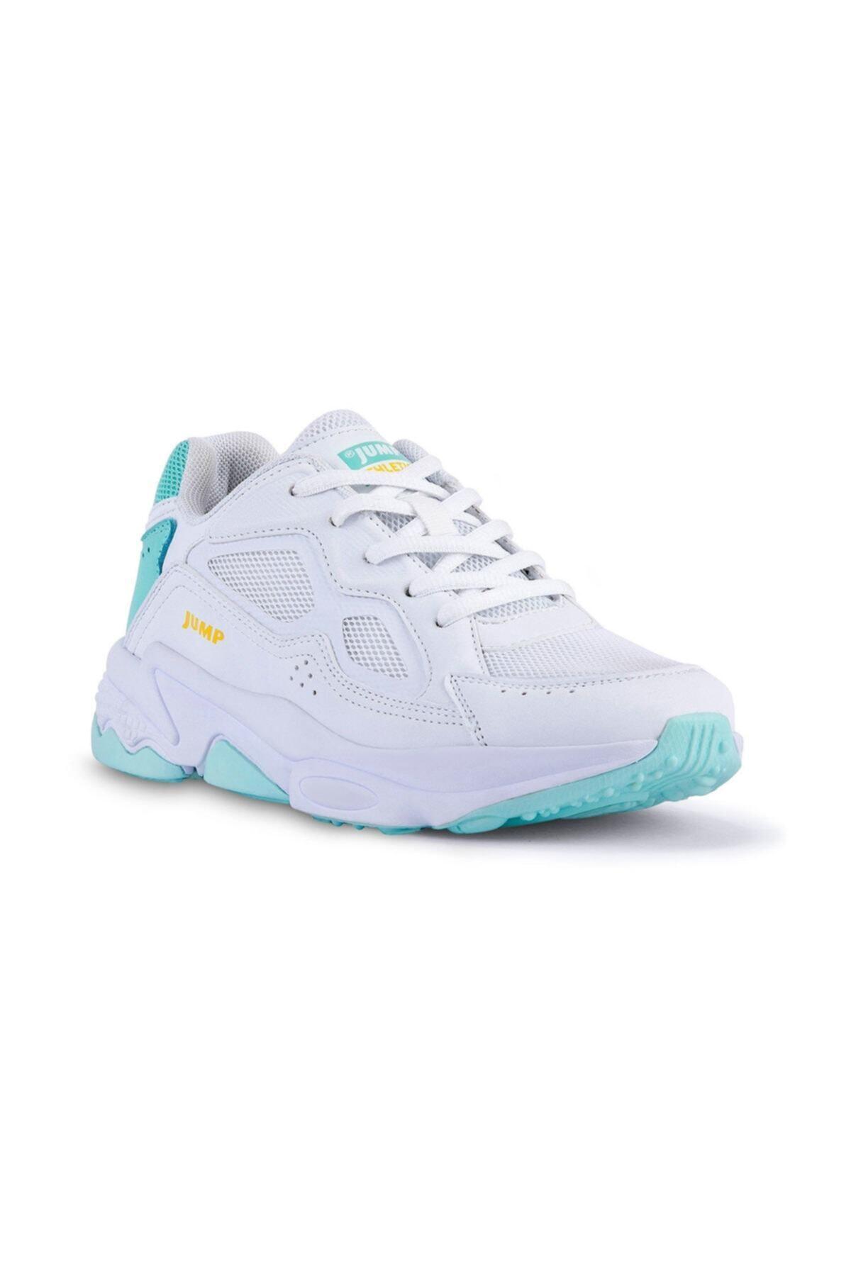 Jump Kadın Beyaz Mint Spor Ayakkabı 24711 20S0424711 1