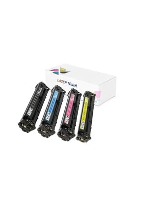 inkwell Hp 125a-cb540a-cb541a-cb542a- Cb543a Hp Color Laserjet Cp1510 1 Set Muadil Toner